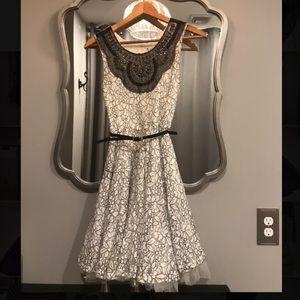 Knitworks size 14 lace dress